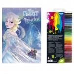 132146 Frost målarbok med fiberpennor