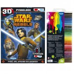 232266 Star wars rebels pysselbok med fiberpennor